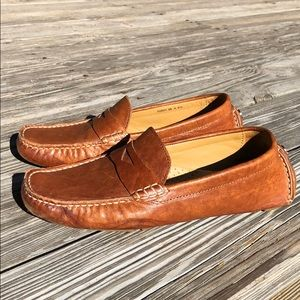 5a684b051a4 Cole Haan. Cole Haan Grant Canoe Penny Loafer size 9